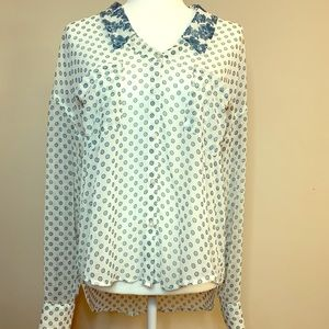 Free People Button-up Blouse